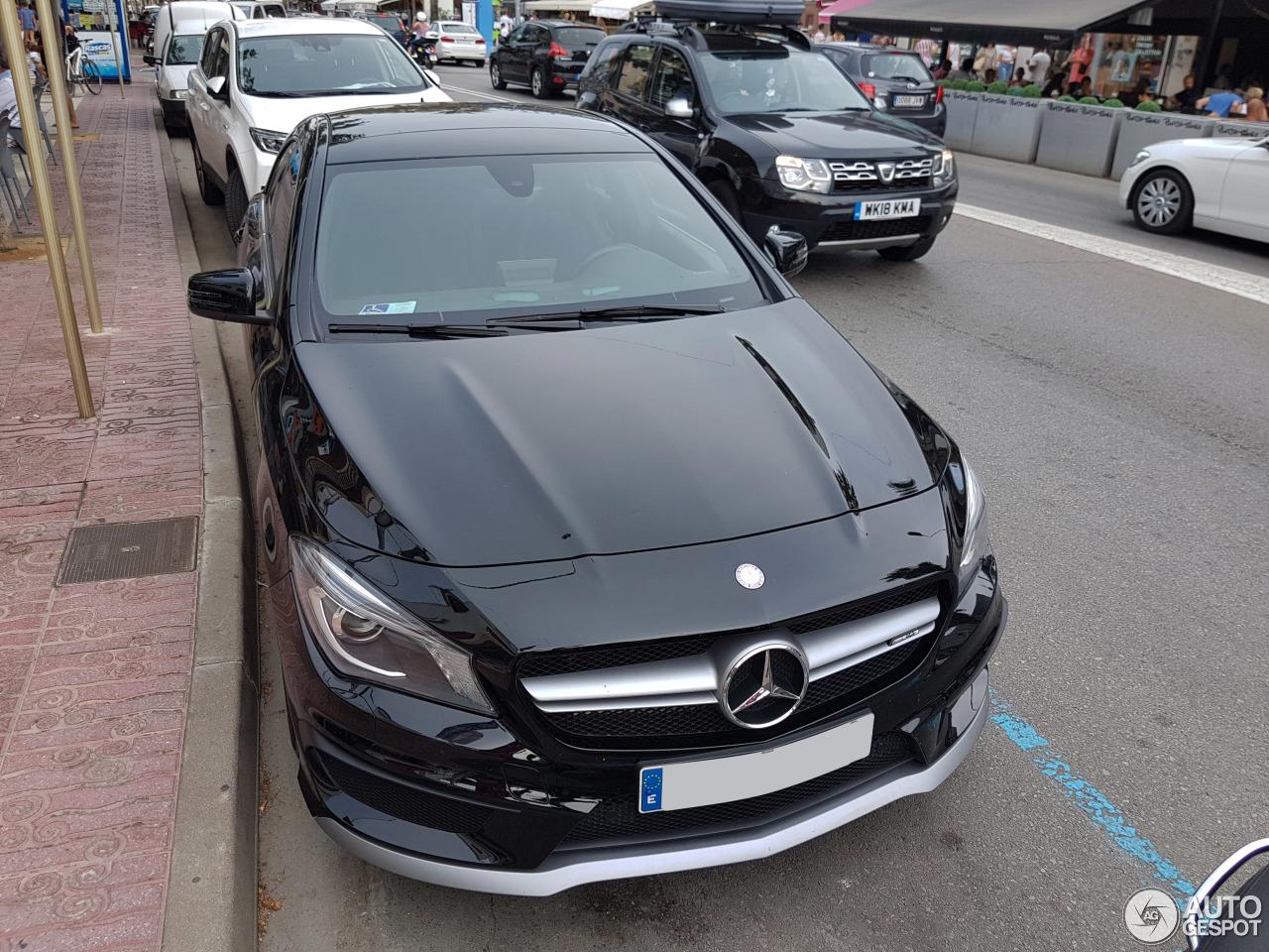 Mercedes benz cla 45 amg c117 13 august 2018 autogespot for La mercedes benz