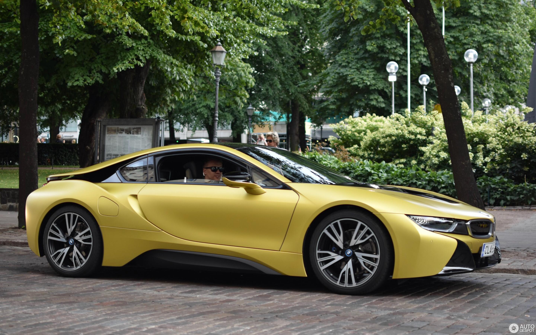 Bmw I8 Protonic Frozen Yellow Edition 17 August 2018 Autogespot