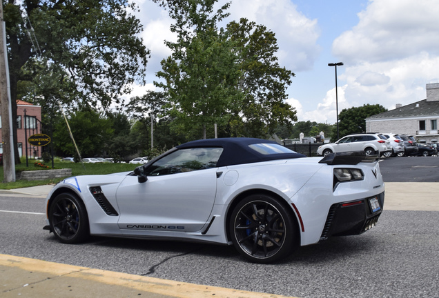 Chevrolet Corvette C7 Z06 Convertible Carbon 65 Edition