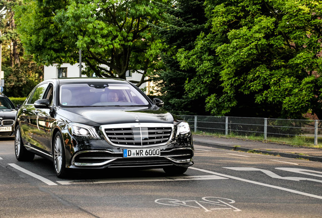 Mercedes-Maybach S 600 X222 2017