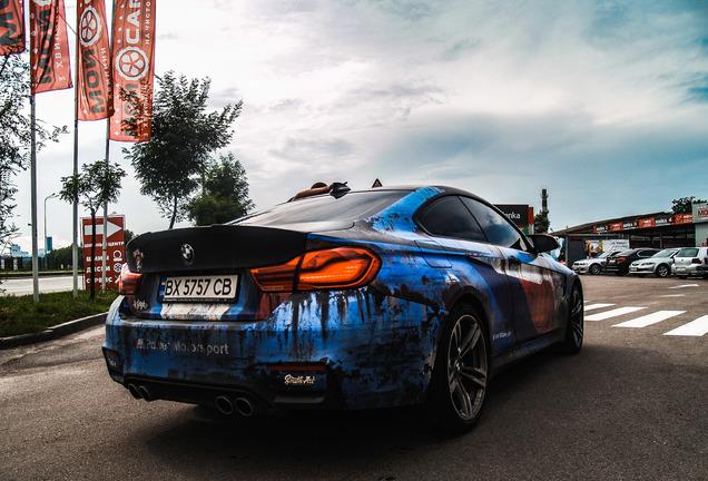 BMWM4 F82 Coupé 2017