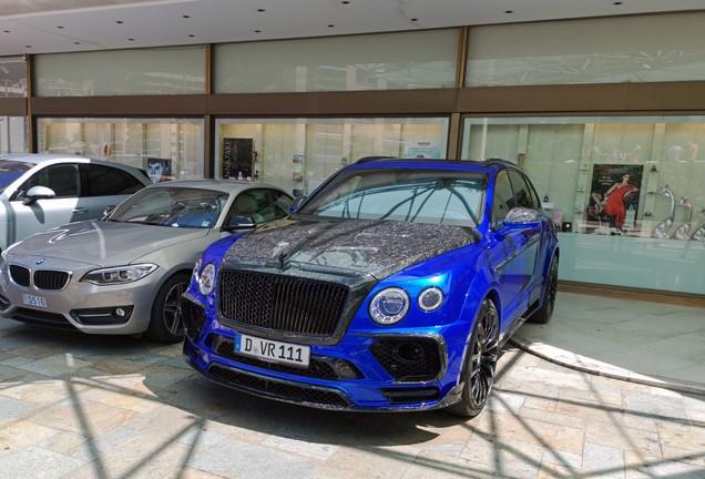 Bentley Mansory Bentayga Bleurion Collage