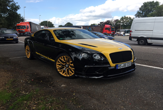 Bentley Continental Supersports Coupé 2018 24 Edition