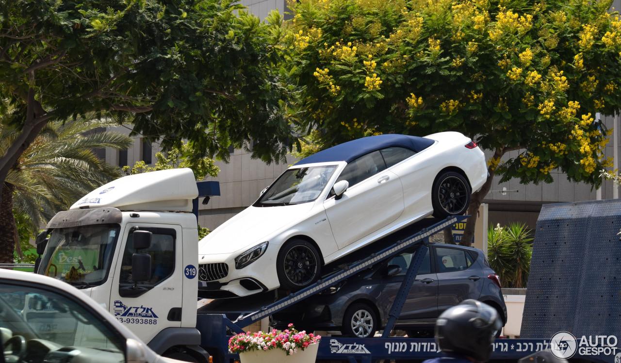 Mercedes Amg S 63 Convertible A217 2018 25 August 2018 Autogespot