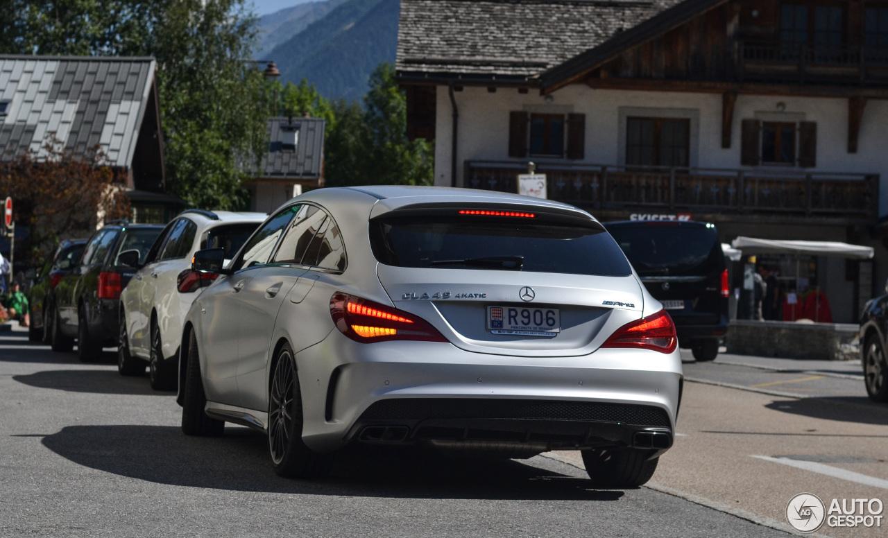 Mercedes Benz Cla 45 Amg Shooting Brake 26 August 2018 Autogespot