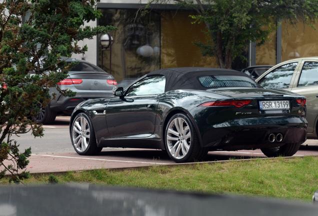 Jaguar F-TYPE S Convertible