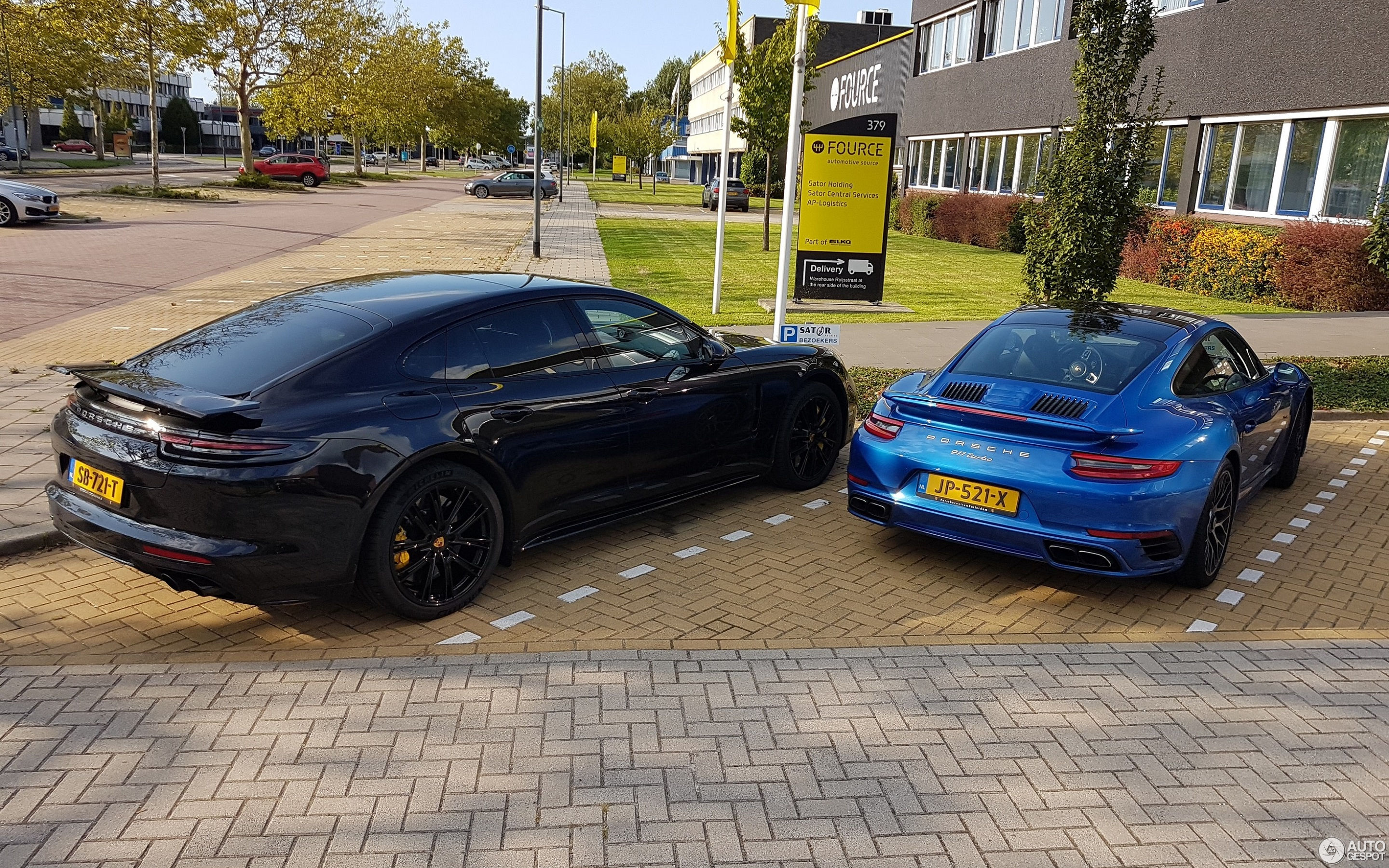 porsche 971 panamera turbo s e hybrid 1 september 2018 autogespot. Black Bedroom Furniture Sets. Home Design Ideas