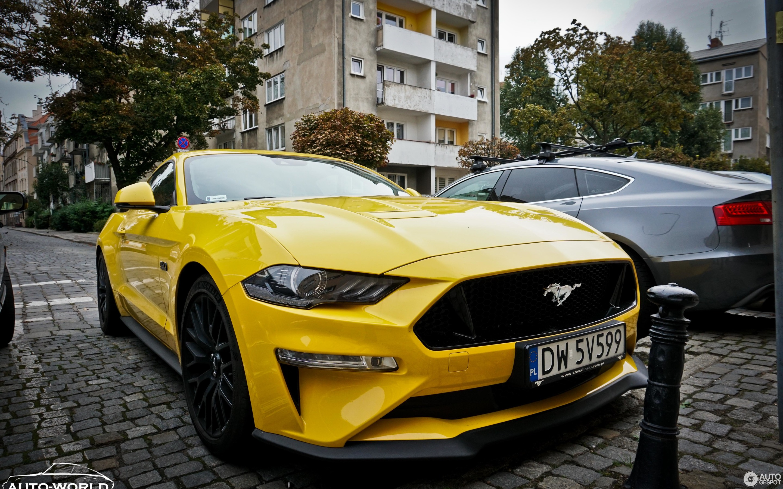 Ford Mustang GT 2018 3 September 2018 Autogespot