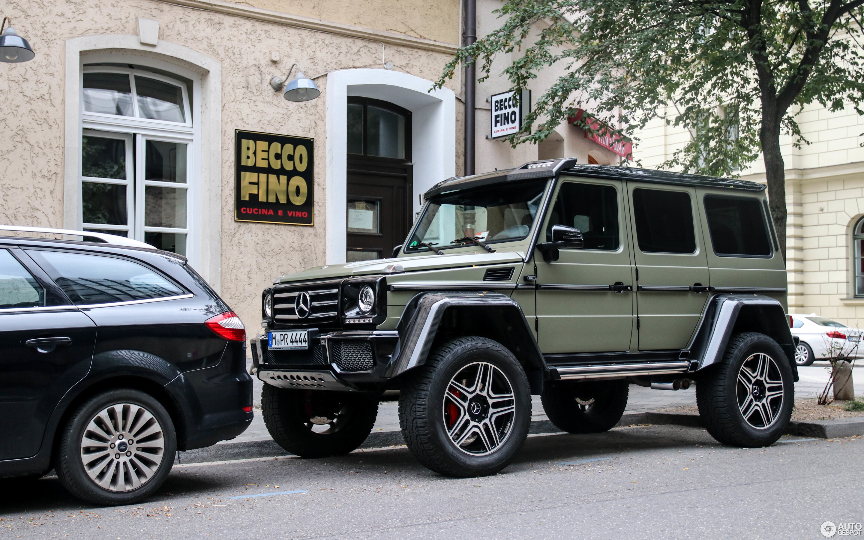 Cucina 4 X 4 mercedes-benz g 500 4x4² - 5 september 2018 - autogespot