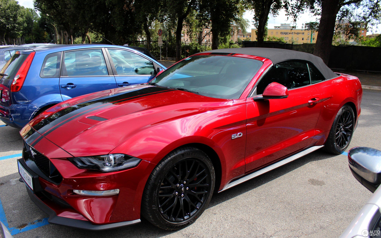Ford Mustang Gt Convertible 2018 6 September 2018 Autogespot