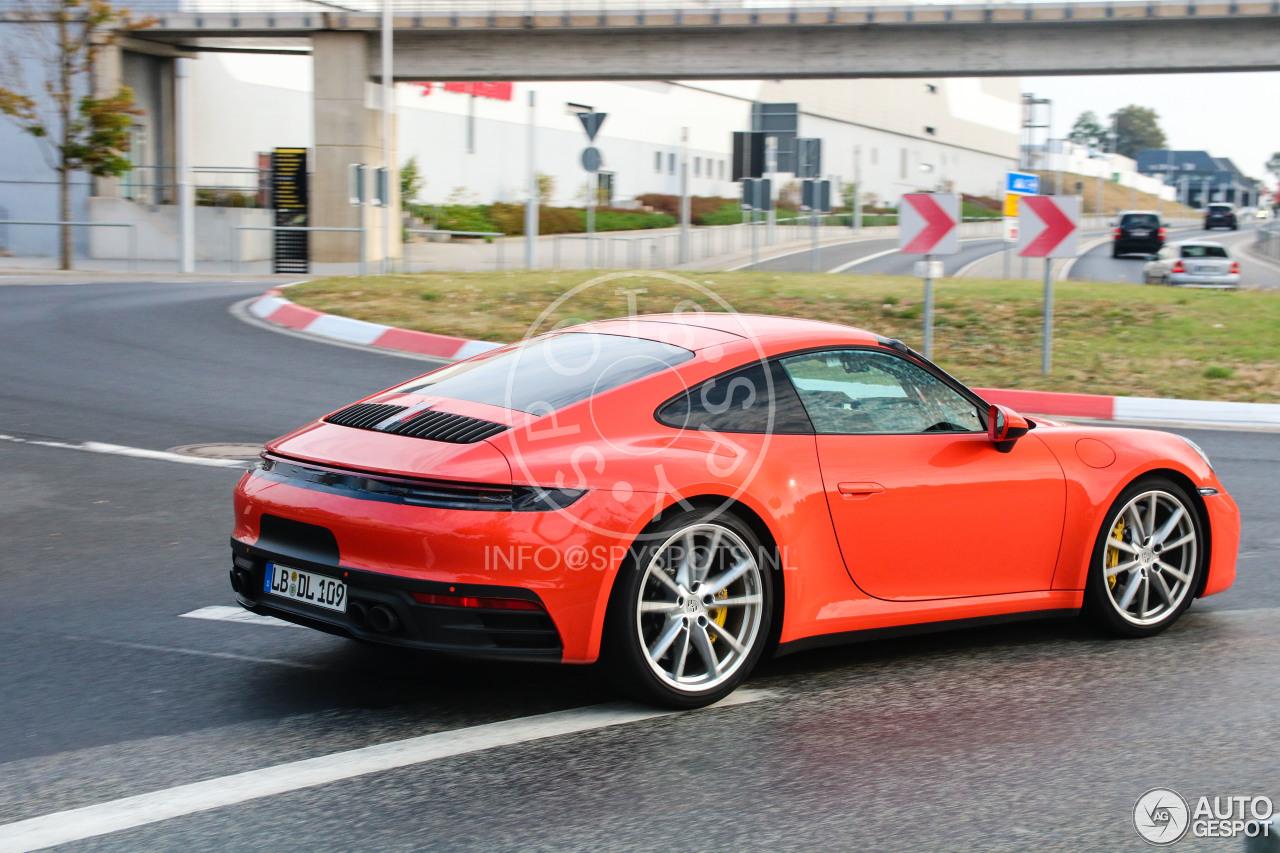 Porsche 992 Carrera S 6 September 2018 Autogespot