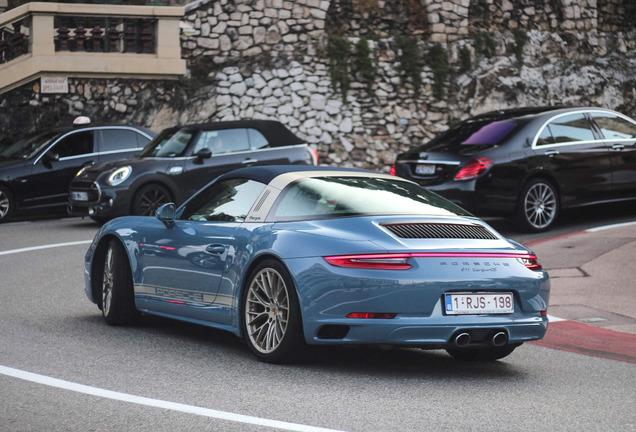 Porsche 991 Targa 4S MkII Exclusive Design Edition