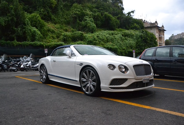 Bentley Continental GTC V8 2016 Galene Edition