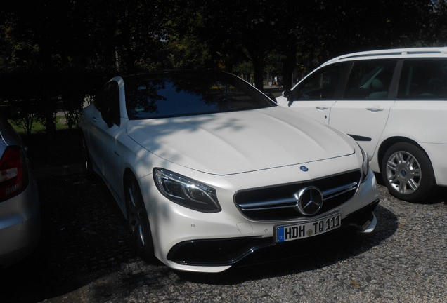 Mercedes-Benz S 63 AMG Coupé C217