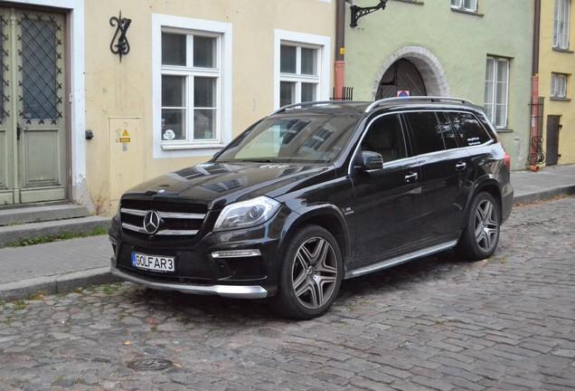 Mercedes-Benz GL 63 AMG X166