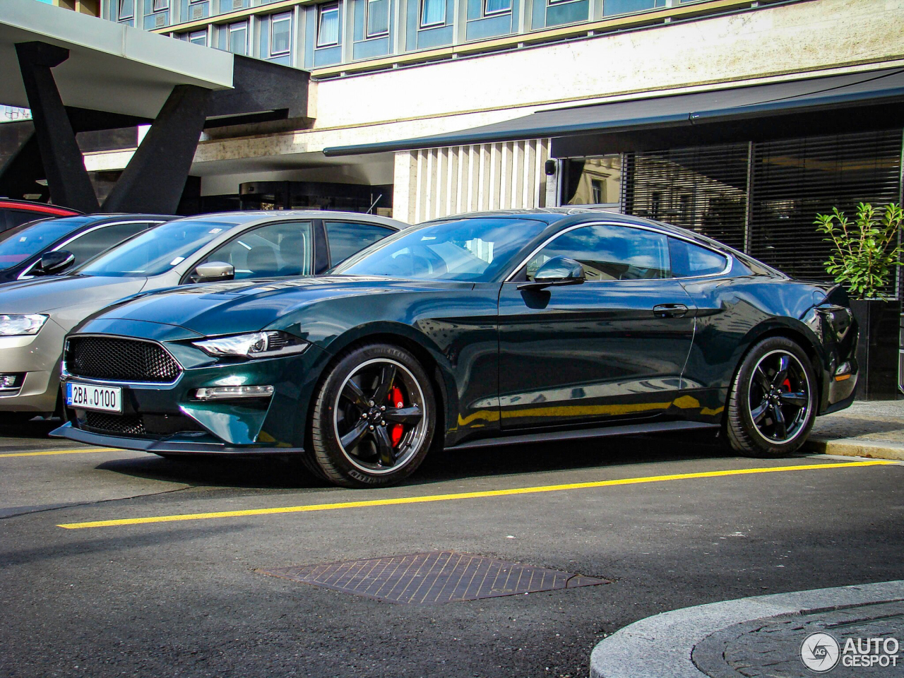 ford mustang bullitt 2019 15 september 2018 autogespot. Black Bedroom Furniture Sets. Home Design Ideas
