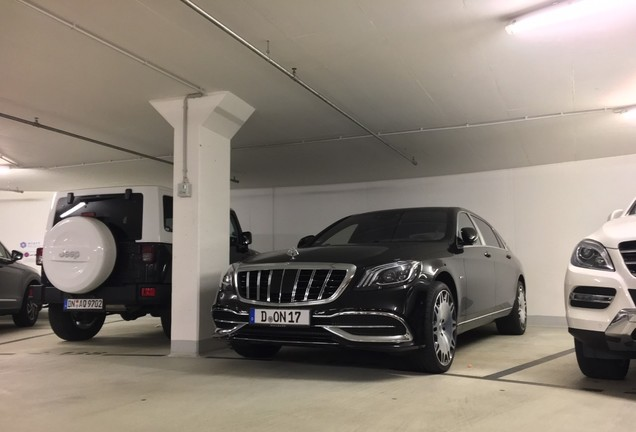Mercedes-Maybach Brabus S 650 X222 2018