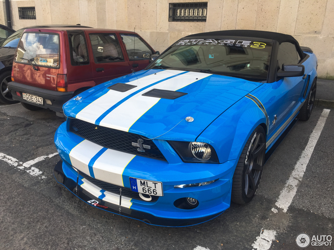 ford mustang stage 3 ap racing shelby gt500 convertible. Black Bedroom Furniture Sets. Home Design Ideas