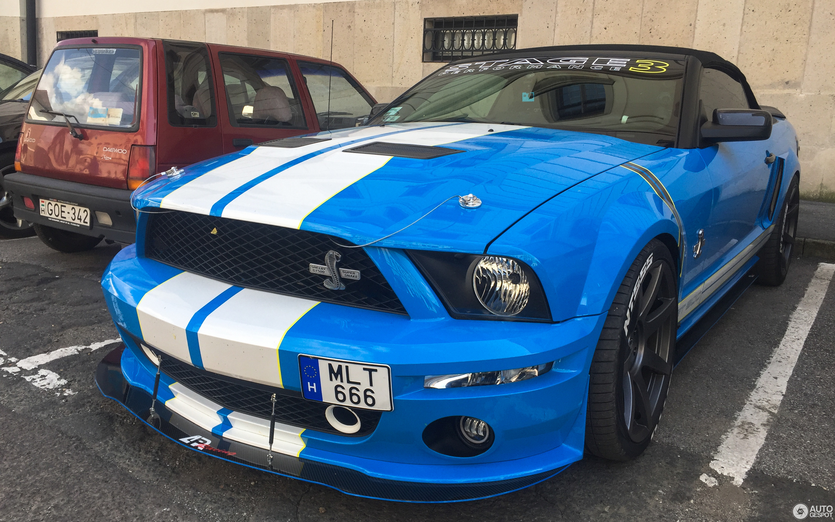 2015 Mustang Rims >> Ford Mustang Stage 3 AP Racing Shelby GT500 Convertible