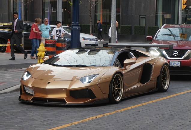 Lamborghini Aventador LP700-4 Liberty Walk LB Performance Wide Body
