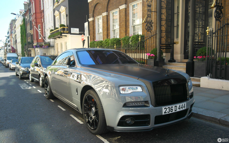 Rolls Royce Mansory Wraith Black Badge 19 September 2018 Autogespot