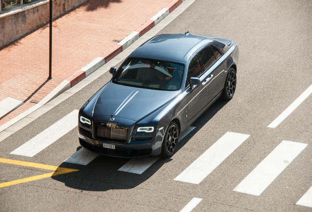 Rolls-Royce Ghost Series II Black Badge