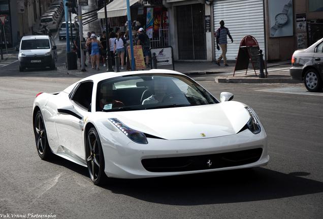 Ferrari458 Spider