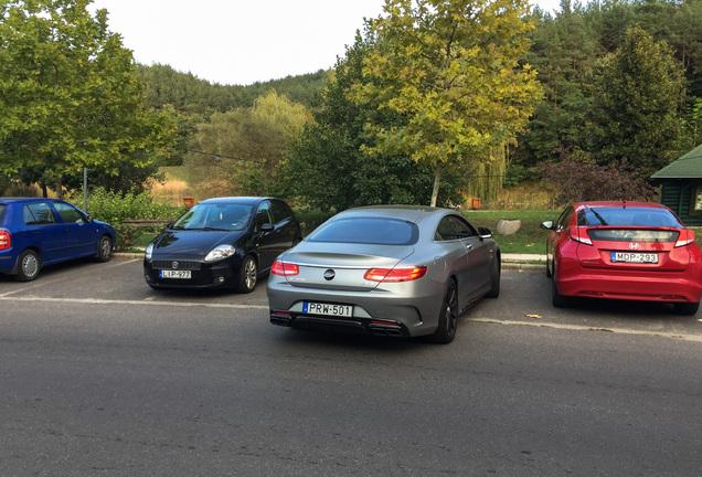 Mercedes-AMGS 63 Coupé C217