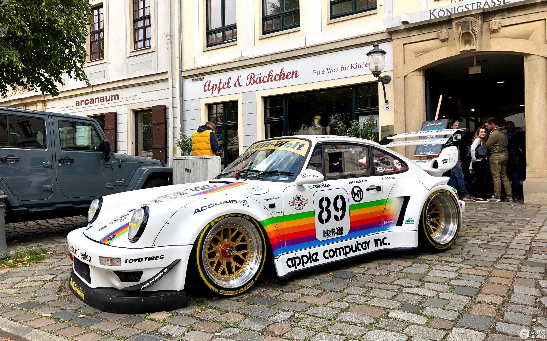 Porsche Rauh-Welt Begriff 964 Turbo
