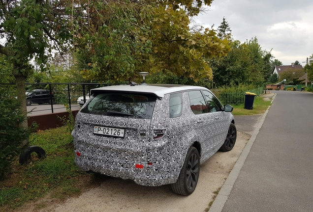 Land Rover Discovery Sport Diesel 2019