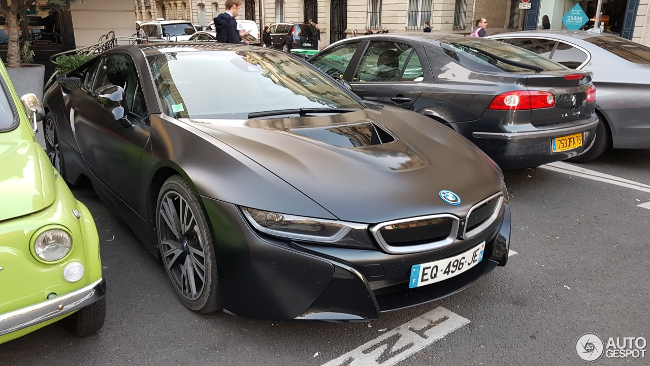 Bmw I8 Protonic Frozen Black Edition 9 October 2018 Autogespot