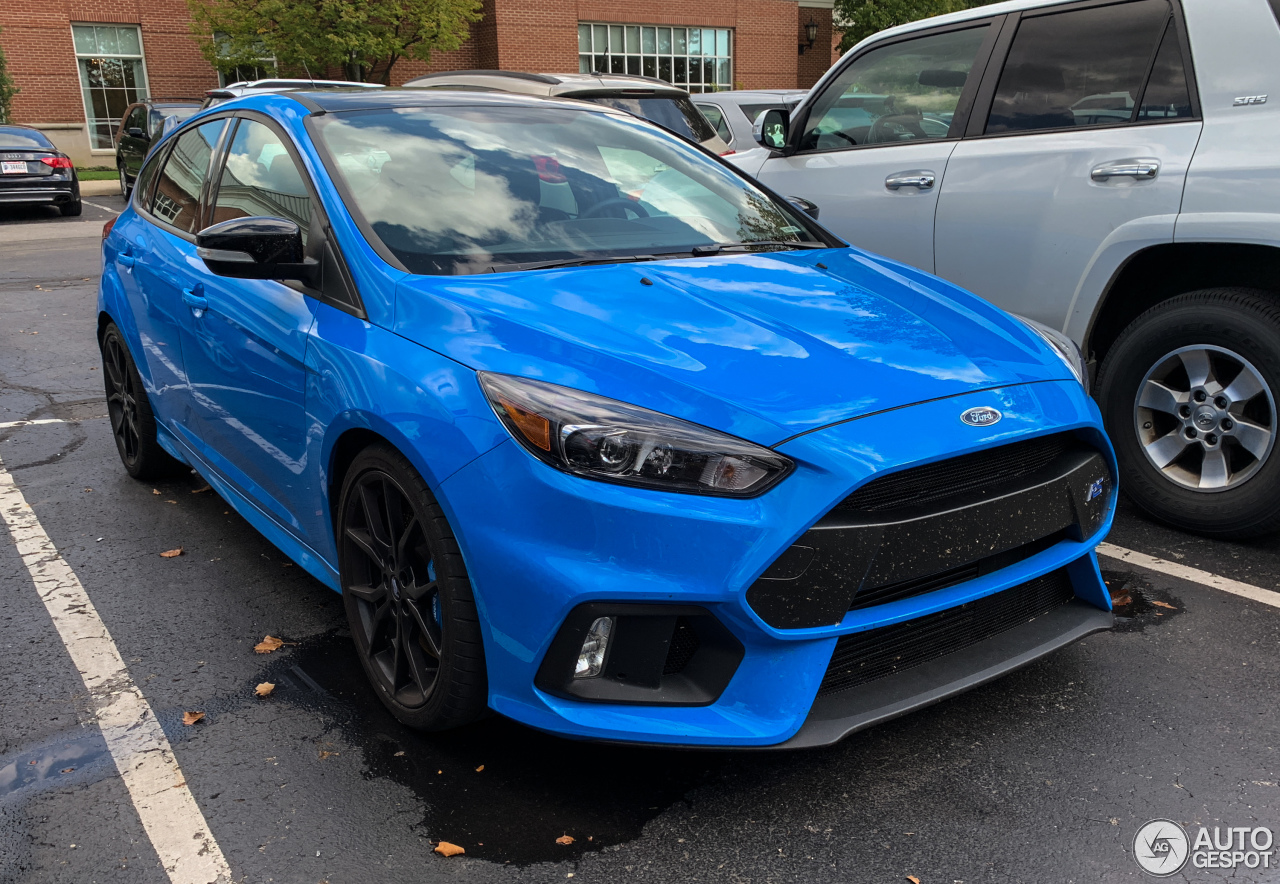 ford focus rs performance limited edition 2018 10. Black Bedroom Furniture Sets. Home Design Ideas