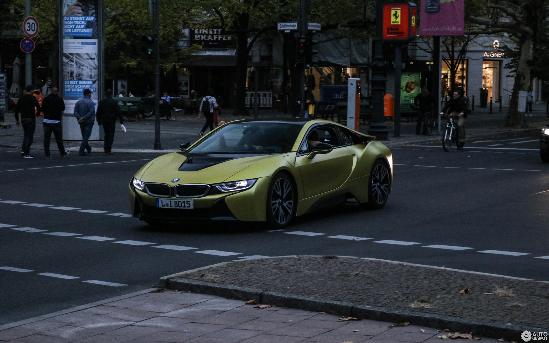Bmw I8 Protonic Frozen Yellow Edition 10 October 2018 Autogespot