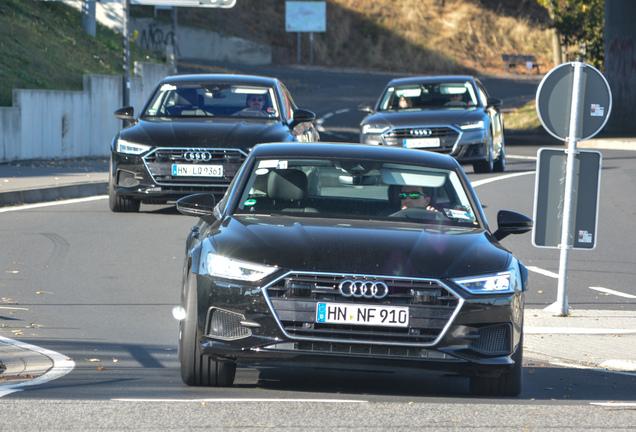 Audi RS7 Sportback 2018 Mule