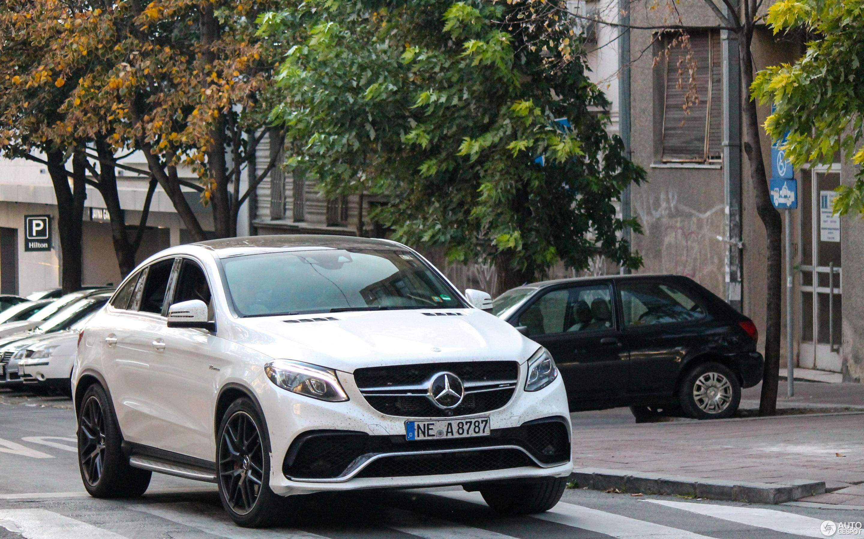 Mercedes AMG GLE 63 S Coupé 19 October 2018 Autogespot