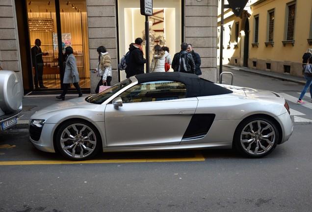 AudiR8 V10 Spyder