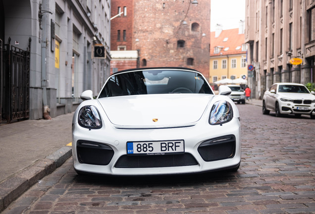 Porsche981 Boxster Spyder