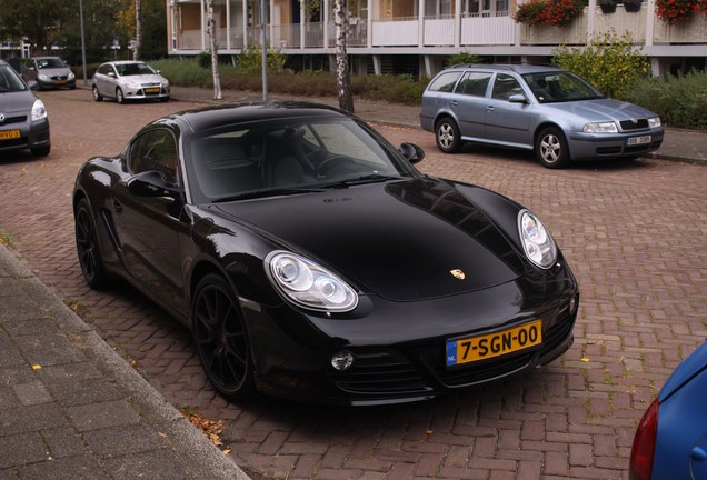 Porsche Cayman S MkII Black Edition