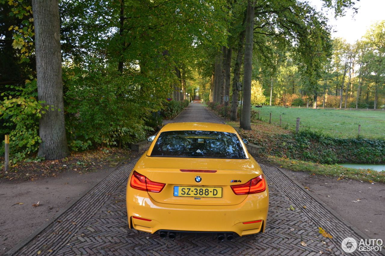 BMW M4 F83 Convertible 30 Jahre Edition