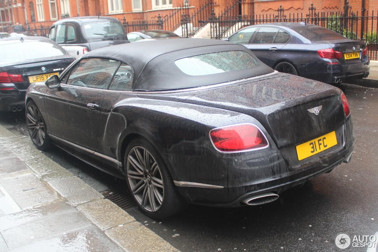 Bentley Continental GTC Speed 2015