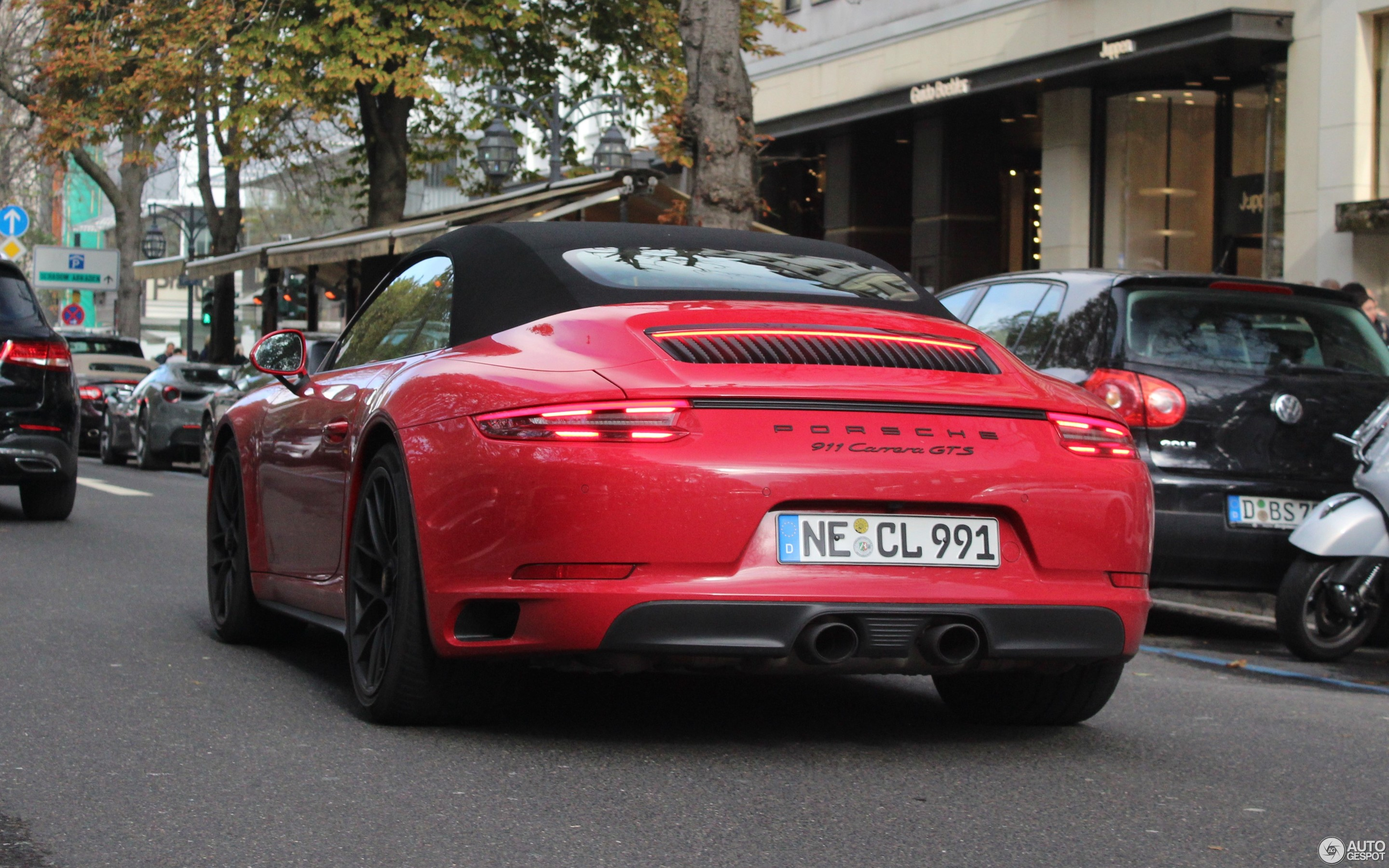 Porsche 991 Carrera Gts Cabriolet Mkii 30 October 2018 Autogespot