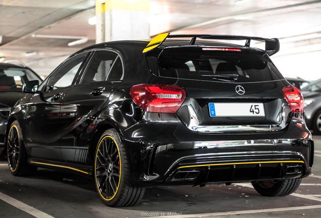 Mercedes-AMG A 45 W176 Yellow Night Edition
