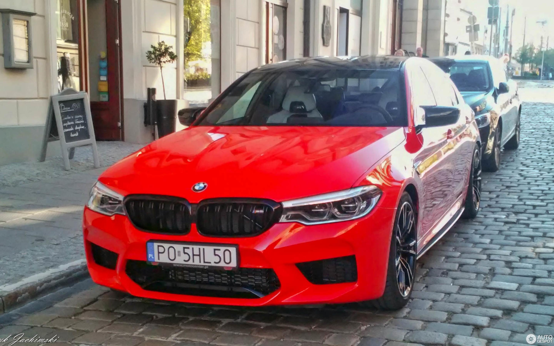 Bmw M5 F90 Competition 5 November 2018 Autogespot