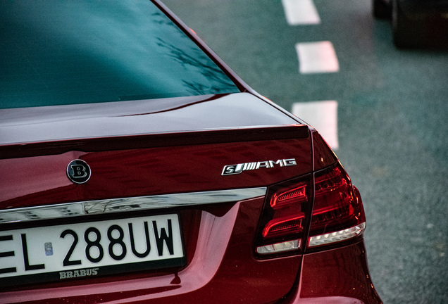 Mercedes-Benz Brabus E B63-650 Biturbo W212 2013