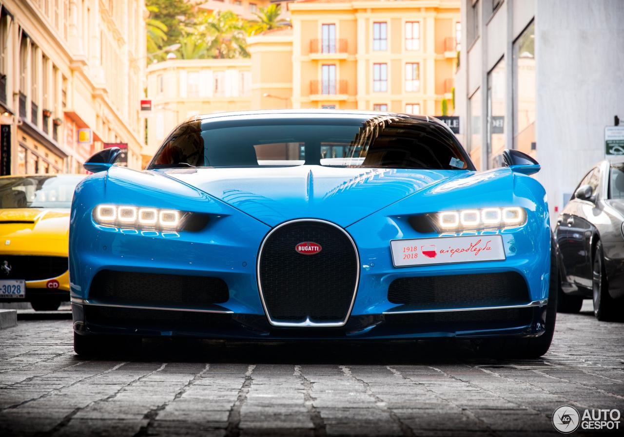 Bugatti Chiron - 11 November 2018 - Autogespot