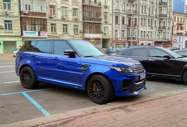 Land Rover Range Rover Overfinch GT SVR