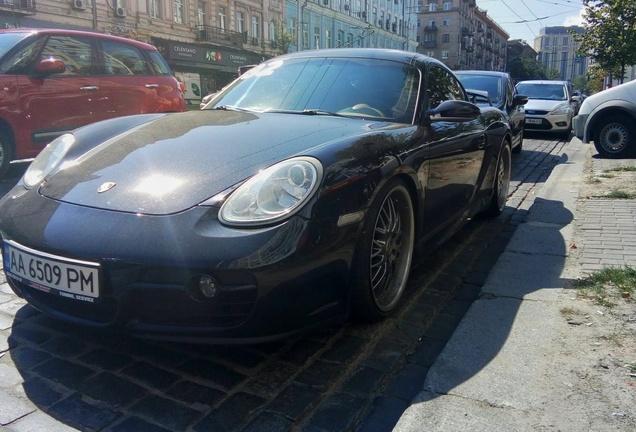 Porsche Cayman Techart GT Sport