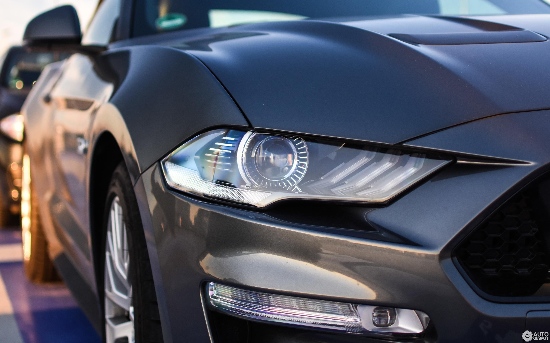 Ford Mustang GT Convertible 2018 19 November 2018 Autogespot