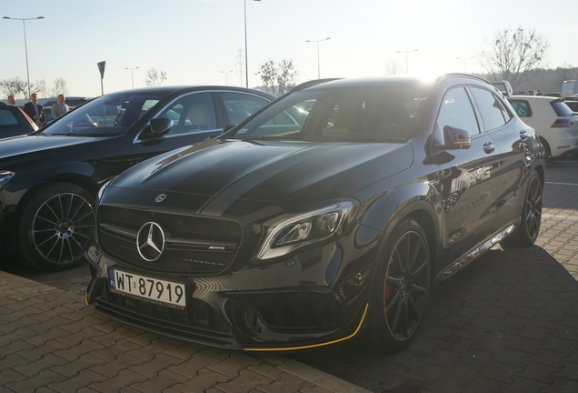 Mercedes-AMG GLA 45 X156 Yellow Night Edition