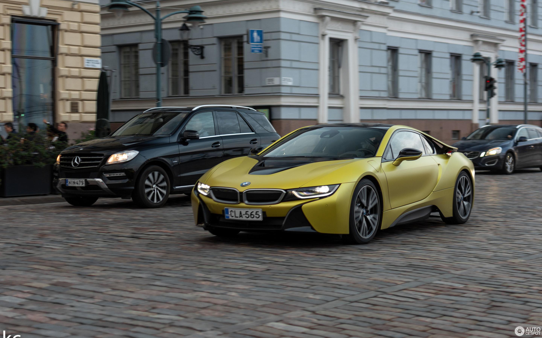 Bmw I8 Protonic Frozen Yellow Edition 30 November 2018 Autogespot